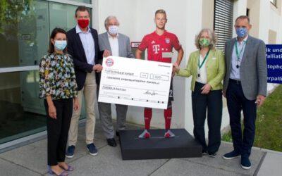 FC Bayern im Kinderpalliativzentrum