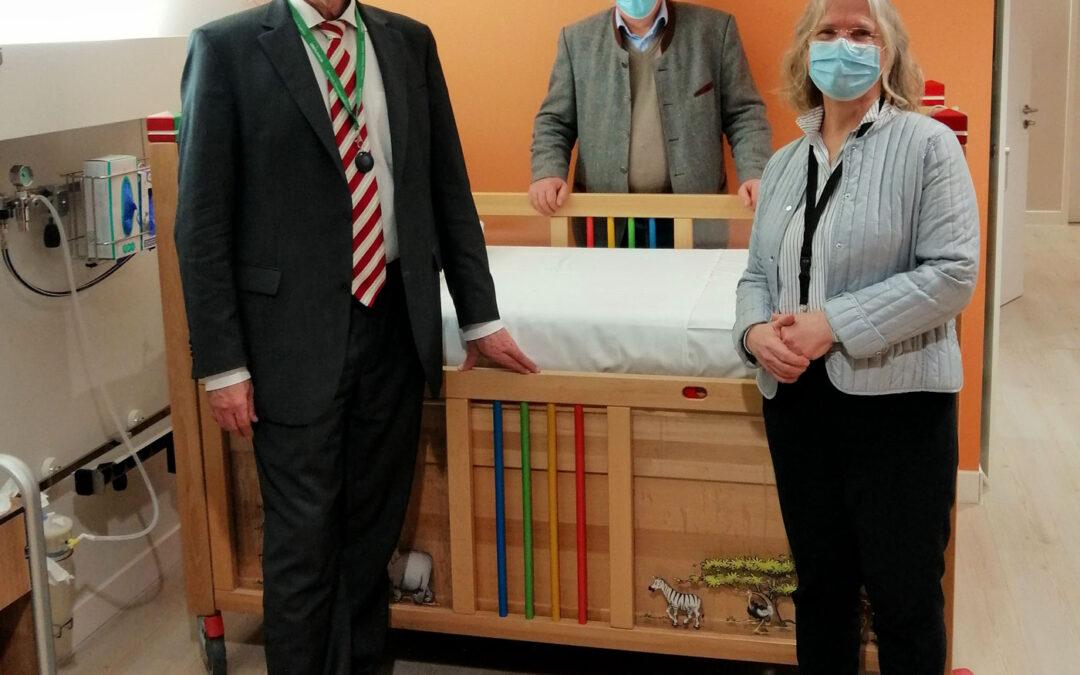 Hoher Besuch im Kinderpalliativzentrum